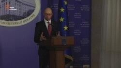 Яценюк: Відставка уряду – за що?