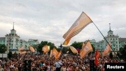 "Украина -- Кхиамца ""референдум"" чекхъялар даздеш бу хIара нах Луганскехь. Стиг12, 2014"