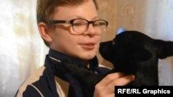 Двенадцатилетний сын Натальи Данила Верещагин