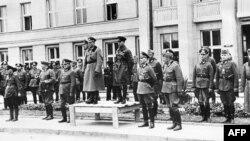 Сумесны парад вэрмахту і Чырвонай арміі, Берасьце, 22 верасьня 1939