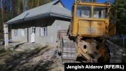 Разгромленный офис компании Z-Explorer в селе Майдан, 18 октября