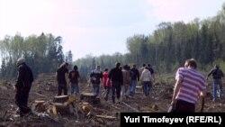 Бой за Химкинский лес