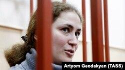 Софья Апфельбаум в суде