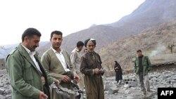 Турок пролетел... Жители иракского Кандиля оценивают ущерб от авиаудара