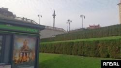 Реклама фільму Войцеха Смажовського «Волинь» у Варшаві