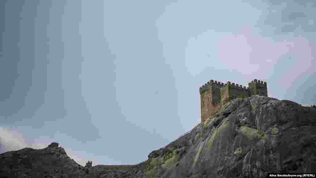 Неприступную цитадель возвели генуэзцы – посланцы Византийской империи