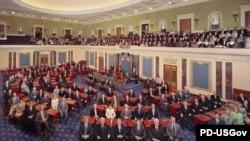 سنای آمریکا، مجلس علیای کنگره به شمار میرود.