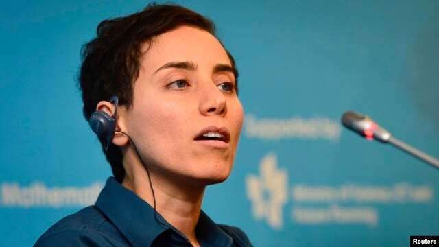 Apparently, images of Iranian mathematician Maryam Mirzakhani without Islamic hijab were too risque for Iranian media.