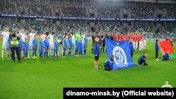 Менскі футбольны клюб «Дынама» падчас чэмпіянату Беларусі-2019 у футболе