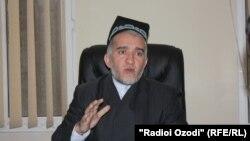 Саидмукаррам Абдулқодирзода, раиси Шӯрои уламои Маркази исломии Тоҷикистон.