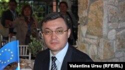 Igor Corman la ceremonia de la Atena la 28 aprilie 2014.