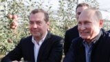 Дмитрий Медведев и Владимир Путин. 9 октября 2018. Фото ТАСС