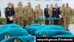 Урочистості з нагоди Дня морської піхоти у 35 ОБрМП на Одещині. 22 травня 2021 року