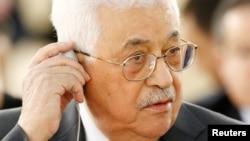 Лидер Палестинской автономии Махмуд Аббас