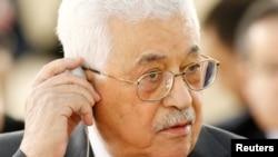 محمود عباس رئیس اداره خودگردان فلسطین