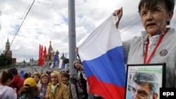 Boris Nemtsov-un öldürüldüyü yer, arxiv fotosu