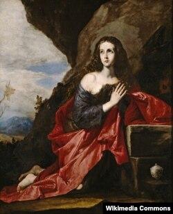 Mariya Maqdalena. İspan rəssamı: José de Ribera