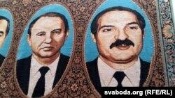 Cadouri de la Aleksandr Lukașenka pentru foștii lideri ai Ucrainei într-un muzeu din Kiev.