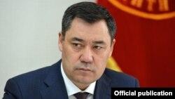 Қырғызстан президенті Садыр Жапаров.