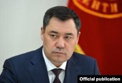 Президент Кыргызстана Садыр Жапаров.