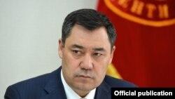 Президент КР Садыр Жапаров.