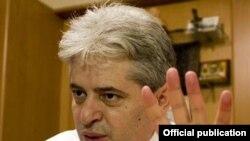 Али Ахмети, претседател на ДУИ