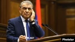 Председатель Национального собрания Армении, член фракции РПА Ара Баблоян (архив)