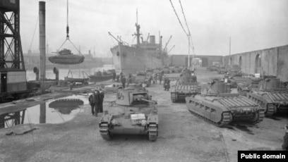 Britaniyanın Matilda tankları SSRİ-yə göndərilir