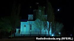 Храм на территории Луганского национального университета имени Шевченко