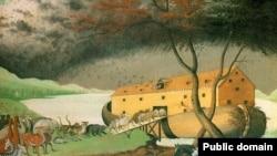 نقاشی کشتی نوح اثر ادوارد هیکس