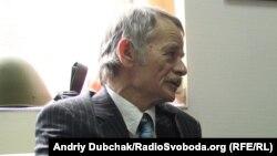Лидер крымско-татарского народа, депутат Верховной Рады Украины Мустафа Джемилев, 21 марта 2014