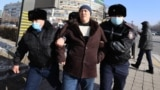 Kazakhstan - Election day - Protest