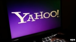 The 2014 hack of Yahoo's e-mail servers was one of the largest-ever security breaches at an Internet company. (file photo)