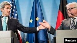 Kerry dhe Steinmeier - foto arkivi