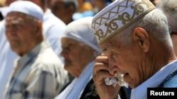 Митинг в годовщину депортации крымских татар. Бахчисарай, 18 мая 2016 года. Иллюстрационное фото