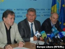 Liberalii Ion Hadârcă, Mihai Ghimpu și Victor Popa