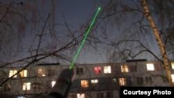 Arxiv foto: Evlərə lazer işığı ilə girirlər