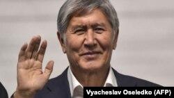 Former Kyrgyzstan President Almazbek Atambaev