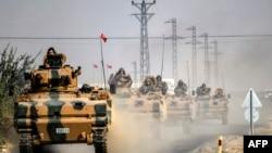 Pripadnici turske vojske u Siriji