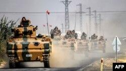 عملیات نظامی ترکیه در خاک سوریه این نگرانی را بوجود آورده که آنکارا ممکن است حتی بیشتر از گذشته در جنگ داخلی سوریه دخالت کند.