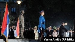 Монумент Гавриле Принципу в Белграде, Сербия.