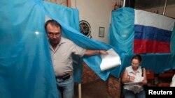 Gjatë votimeve në Krime