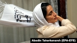 Iranian lawyer and human rights activist Nasrin Sotoudeh (file photo)
