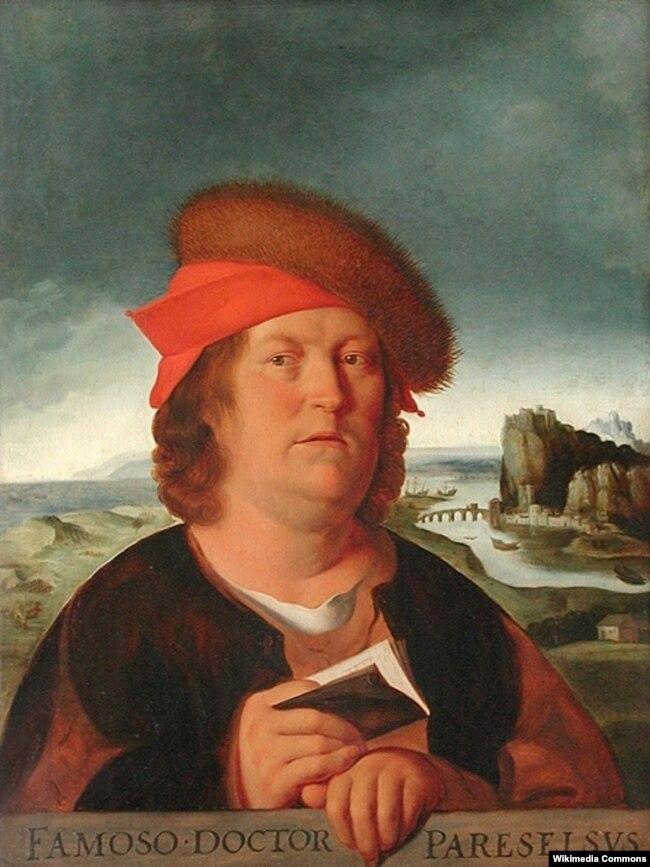 Філіп Аўрэал Тэафраст Бомбаст фон Гогенгайм, больш вядомы як Парацэльс
