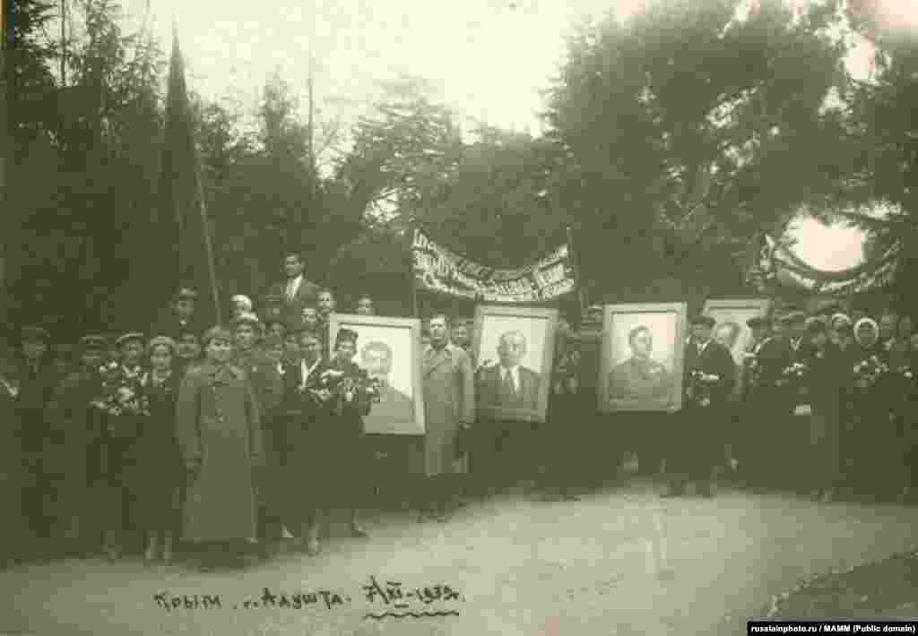 Праздничная демонстрация 7 ноября, 7 ноября 1939