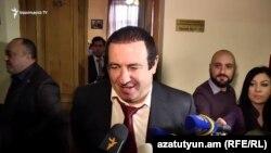 Лидер ППА Гагик Царукян, Ереван, 12 февраля 2019 г.