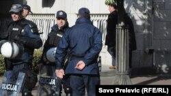 Policija u Podgorici, ilustrativna fotografija