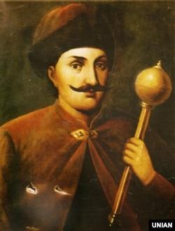 Репродукція портрета гетьмана Івана Виговського