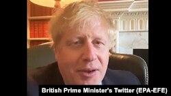 Britanski premijer Boris Džonson u obraćanju javnosti iznosi da je inficiran virusom korone, 27. marta 2020.