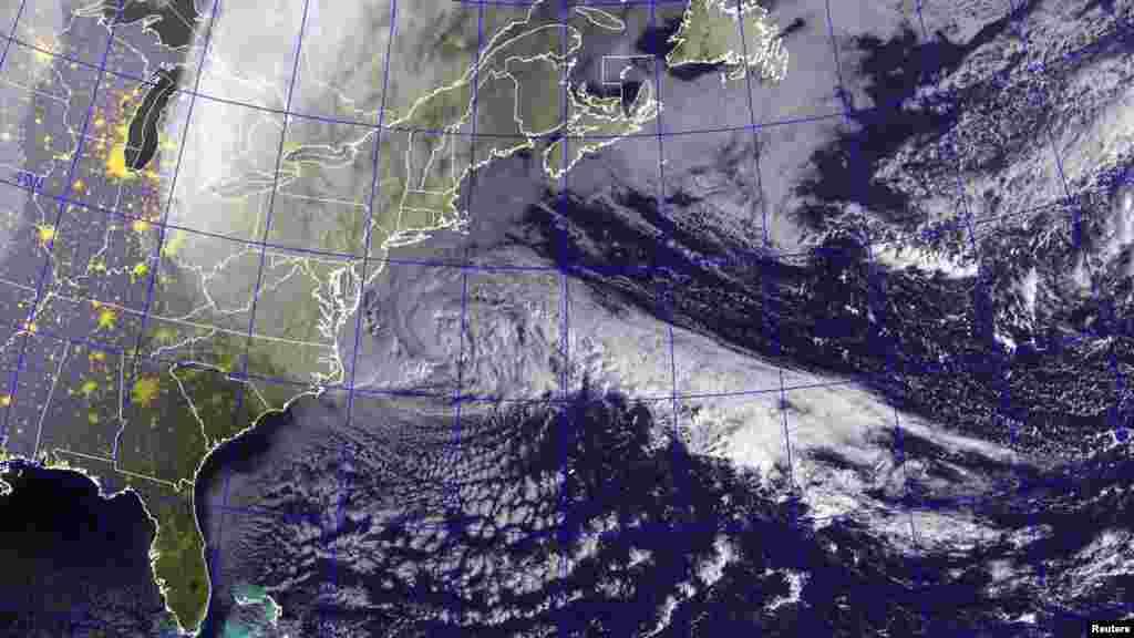 Sandy qasırğası ABŞ-ın şərq sahillərinə yazınlaşır. 29 oktyabr 2012